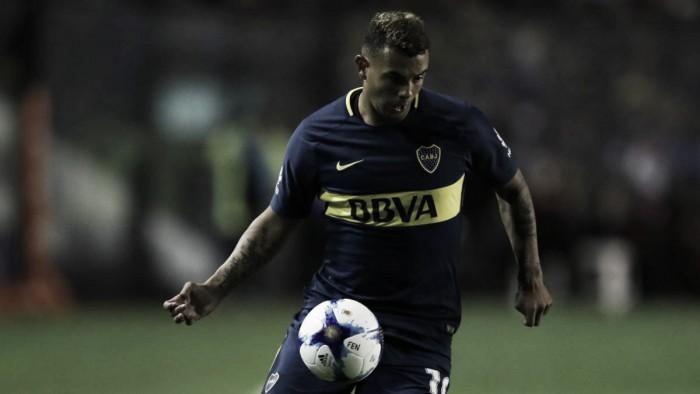 """Edwin Cardona: """"No me gustaría irme nunca de Boca"""""""