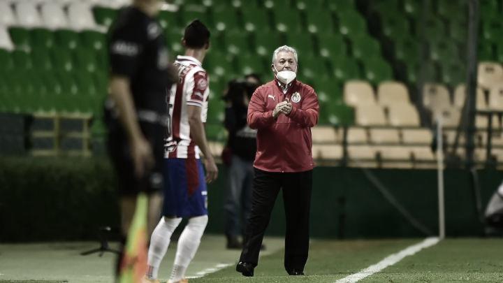Víctor Manuel Vucetich tranquilo por la forma en que termina el torneo con Chivas