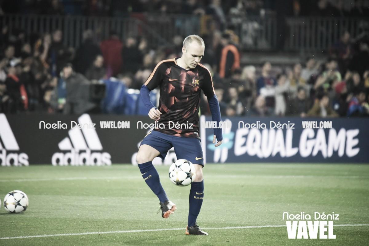 """Com propostas da China, Iniesta deixa em aberto sua permanência no Barcelona: """"Todos irão saber"""""""