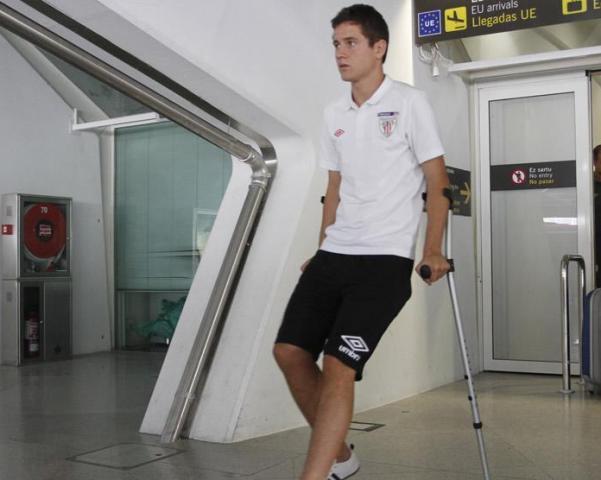 Herrera, baja de 4 a 6 semanas tras ser operado