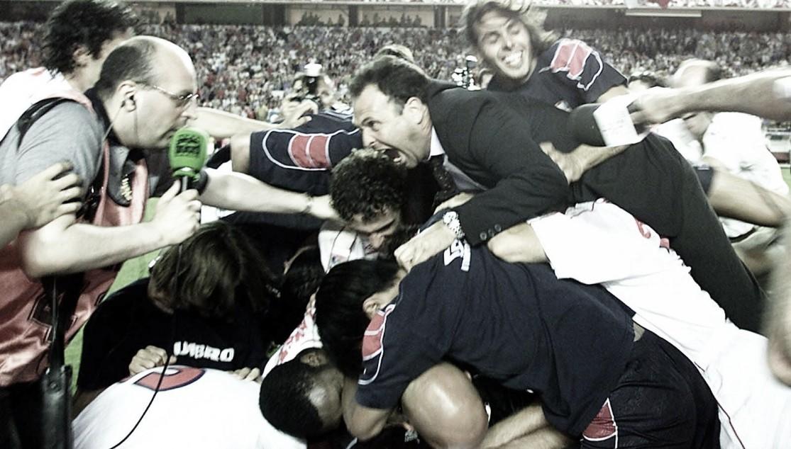 Se cumplen 20 años del último ascenso del Sevilla
