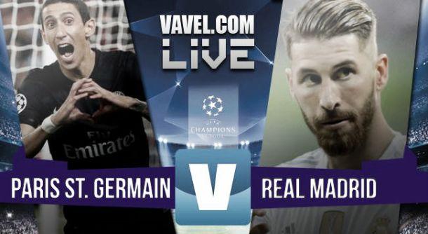 Risultato finale Paris Saint Germain - Real Madrid (0-0), Champions League 2015/2016
