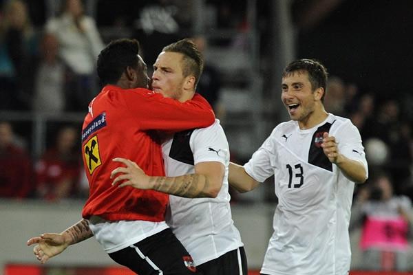 Ucrania cae ante Austria por 3-2