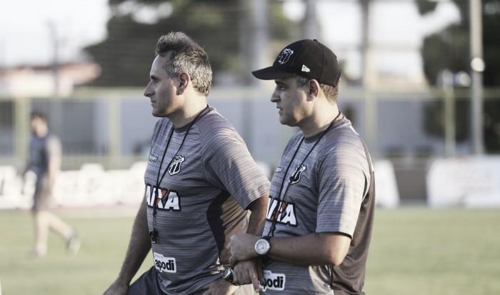 Ceará encerra preparação para enfrentar Fortaleza e técnico Daniel Azambuja garante cautela