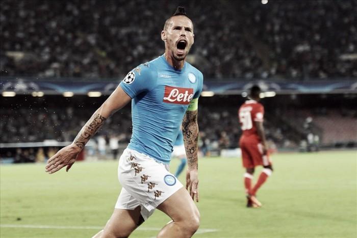 "Ídolo, Hamsík declara amor ao Napoli: ""Só há uma equipe para mim na Itália"""