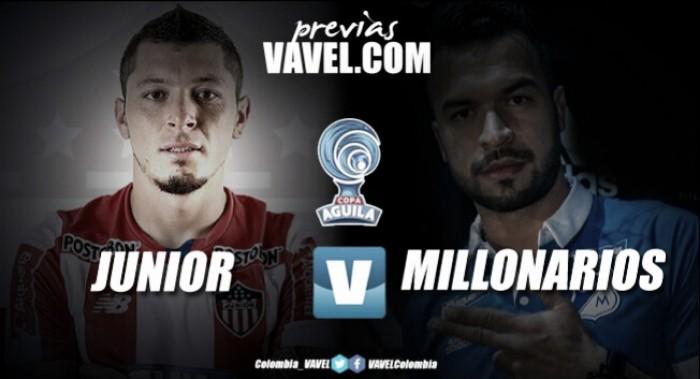 Junior vs Millonarios: los 'azules' por la hazaña en Barranquilla