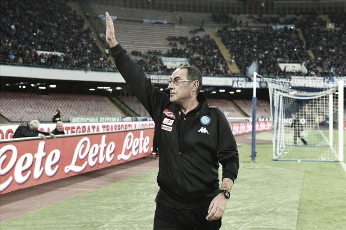 Maurizio Sarri critica atuação do Napoli após empate com Lazio