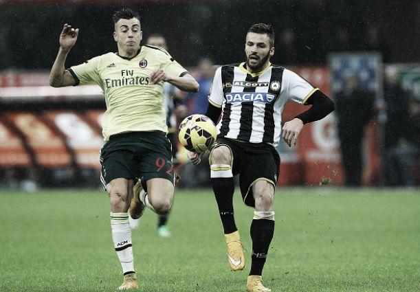 Prestes a ser adquirido por bilionário, Milan visitaUdinese com esperanças de vaga na UEL