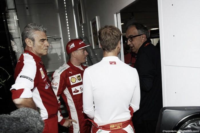 Sergio Marchionne quiere ver a Ferrari en lo más alto