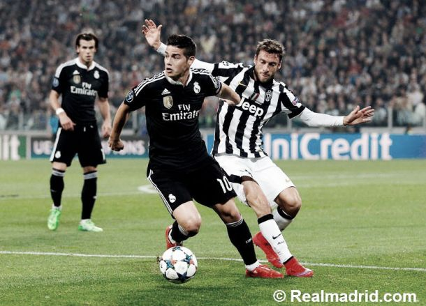 El Real Madrid de James va por la remontada en Champions
