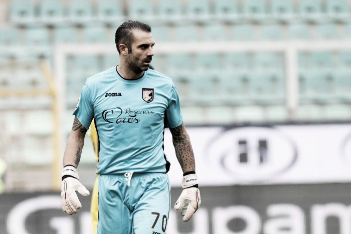 """Palermo, parla Sorrentino: """"Non è semplice cambiando sempre allenatore. Serve l'aiuto del Barbera"""""""