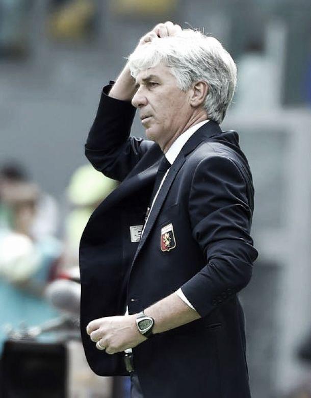"""Genoa, Gasperini: """"L' esclusione Uefa pesa tanto"""""""