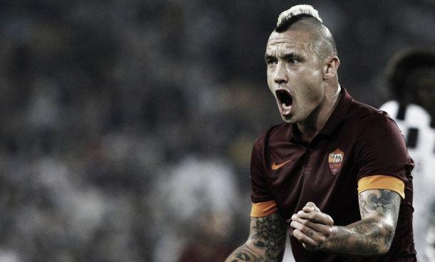 """Nainggolan ne è convinto: """"Meglio vincere una volta con la Roma che dieci con la Juve"""""""
