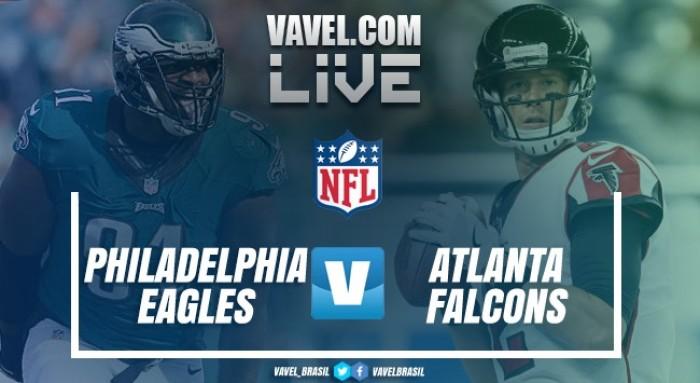 Resultado Philadelphia Eagles vs Atlanta Falcons pelos playoffs da NFL (9-10)