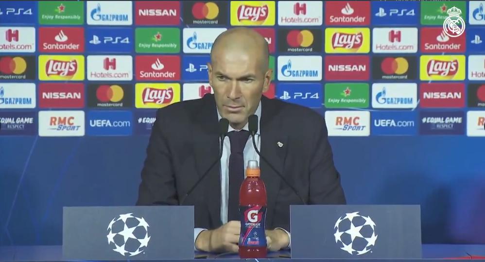 """Zidane realça superioridade do PSG: """"Fomos engolidos"""""""