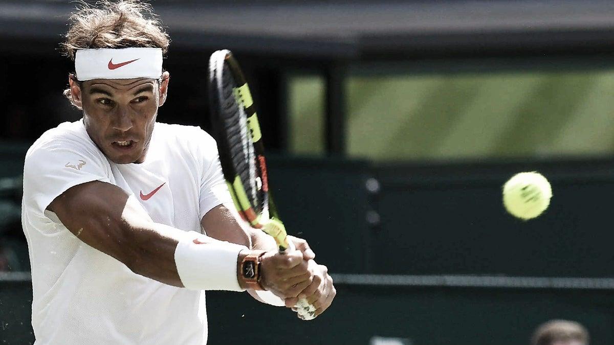 Nadal bate Dudi Sela e estreia com vitória dominante em Wimbledon