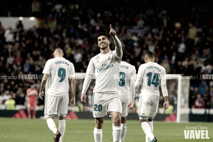 Espectáculo en el Santiago Bernabéu