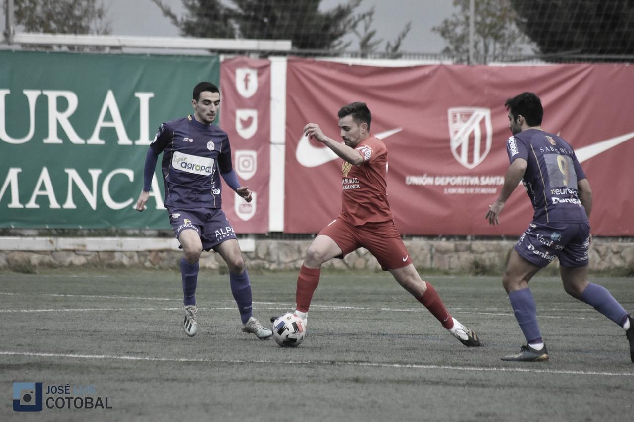 José Asensio ante el Cristo Atlético. Foto: José Luis Cotobal