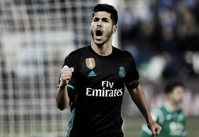 Asensio, segundo máximo goleador madridista