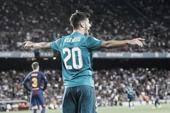 Tem estrela, hein! Asensio marca em mais uma estreia pelo Real Madrid