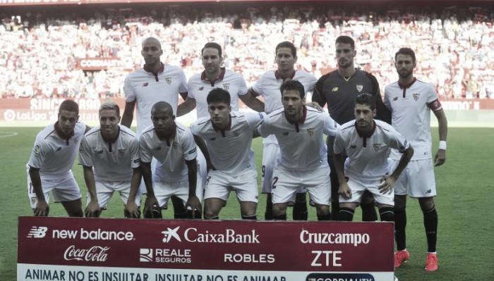 El Sevilla, próximo rival del Eibar, duro pero inestable en ocasiones