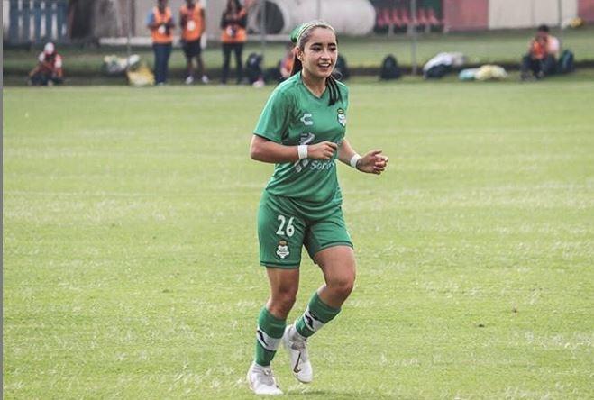 Ashly Martínez, fuera todo el torneo con Santos Femenil