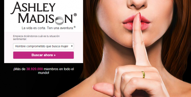 Hackers publican los datos de los clientes registrados en Ashley Madison
