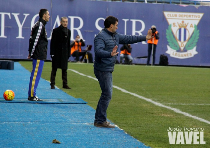 """Asier Garitano: """"Tener 34 puntos en la primera vuelta es muy bueno para nosotros"""""""