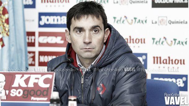 """Asier Garitano: """"Nos hubiera gustado que se jugara otra clase de partido"""""""
