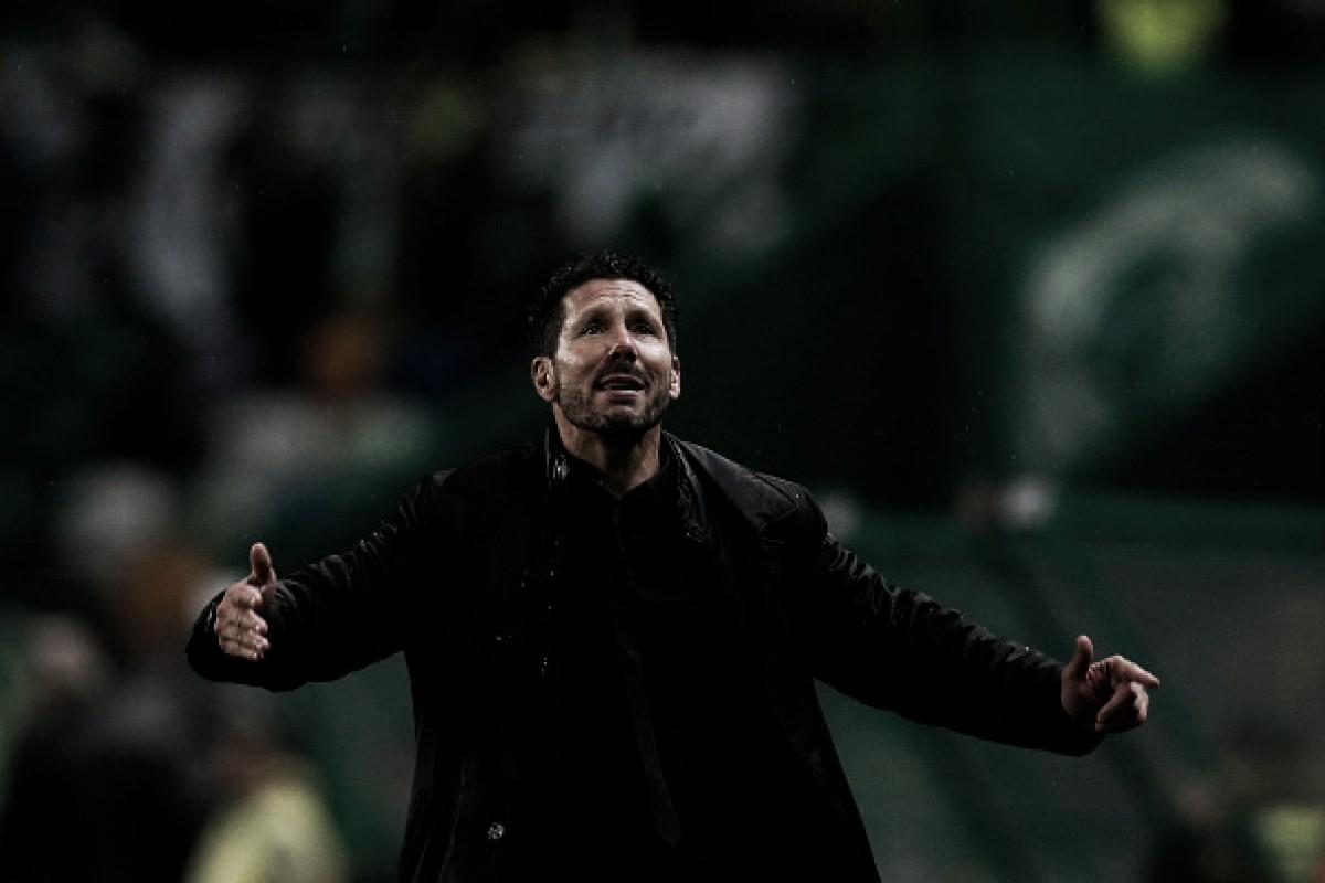 """Simeone destaca classificação do Atleti: """"É um orgulho estarmos em mais uma semifinal europeia"""""""