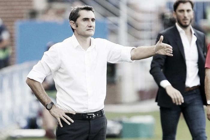 """Valverde valoriza segunda vitória na La Liga e ressalta: """"Temos os seis pontos"""""""
