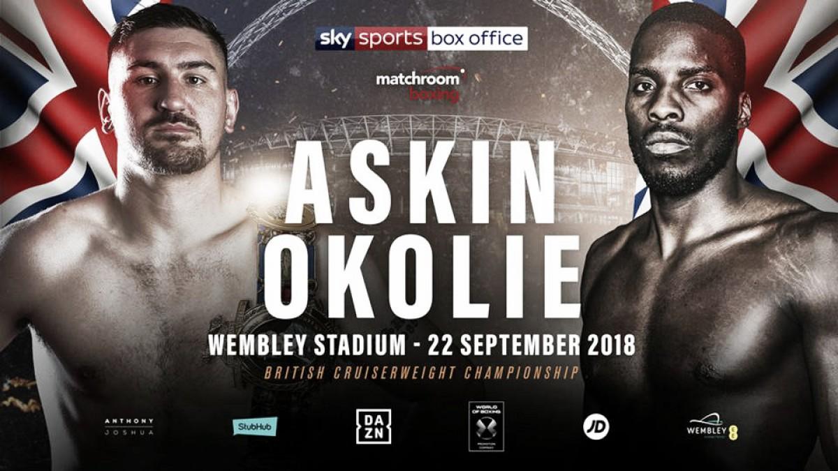Askin defenderá el título de peso crucero británico frente a Okolie