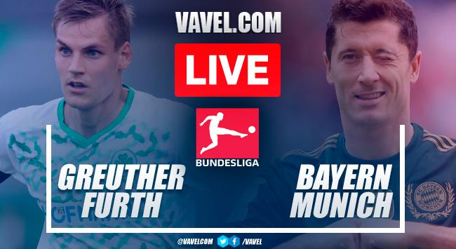 Goals and highlights: Greuther Furth 1-3 Bayern Munich in Bundesliga 2021