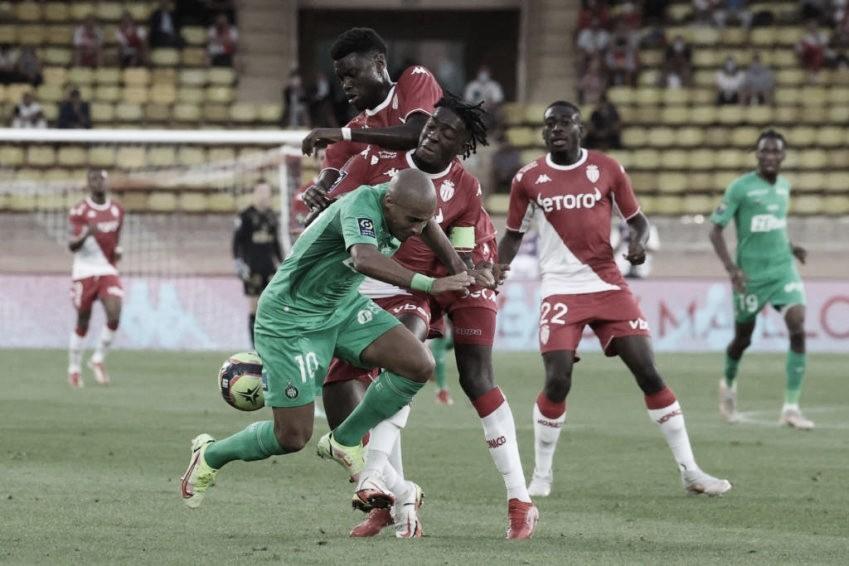 Monaco aproveita superioridade numérica para vencer Saint-Étienne e afundar rival na Ligue 1