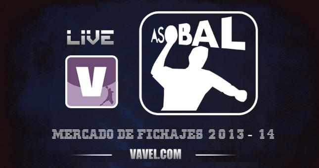 Mercado de Fichajes de Balonmano de la Liga ASOBAL 2013/2014