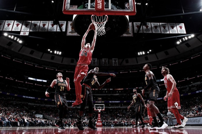 Chicago Bulls supera Atlanta Hawks e conquista primeira vitória na temporada
