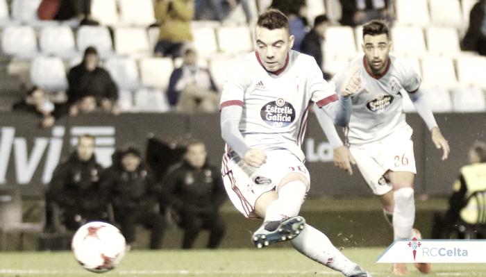 Celta - Eibar: puntuaciones Celta vuelta 1/16 Copa del Rey
