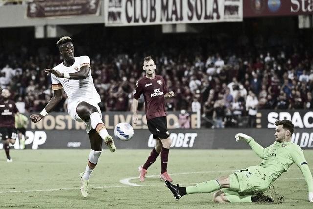 Dominante, Roma tem excelente atuação no segundo tempo e goleia Salernitana