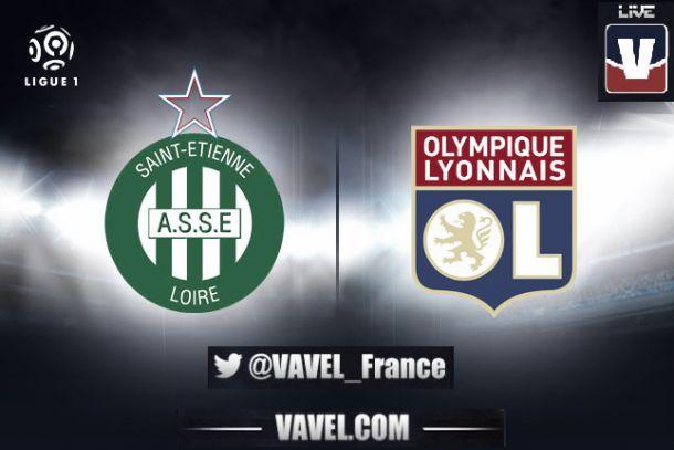 Live ASSE - OL, le match en direct