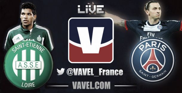 Live ASSE vs PSG, le match en direct