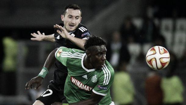Saint-Étienne apenas empata com o Qarabag e se complica no Grupo F da Europa League