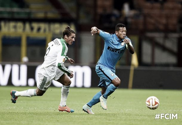 Inter Milan vs Saint-Etienne Text Commentary and Result of UEL Scores 2014