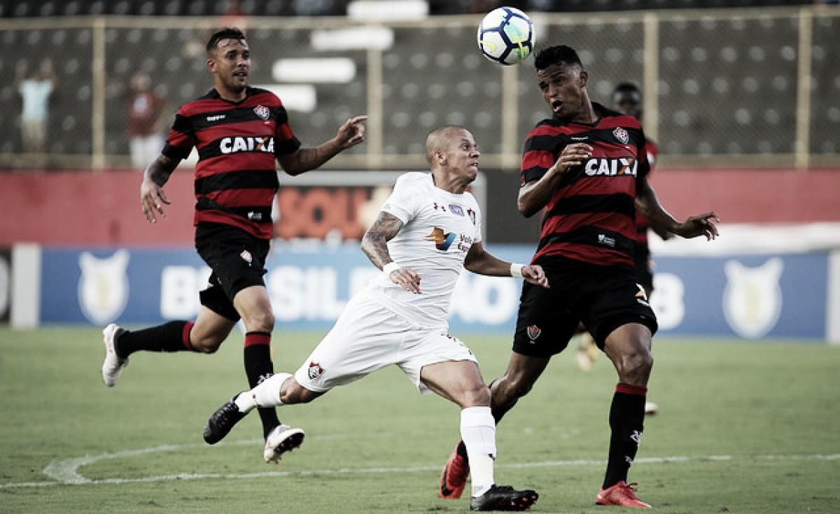 Com muitos desfalques, Fluminense e Vitória se enfrentam no Maracanã