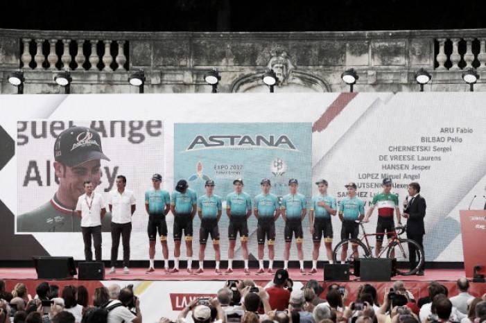 Vuelta a España 2017: Astana Pro Team, el comandante Fabio Aru