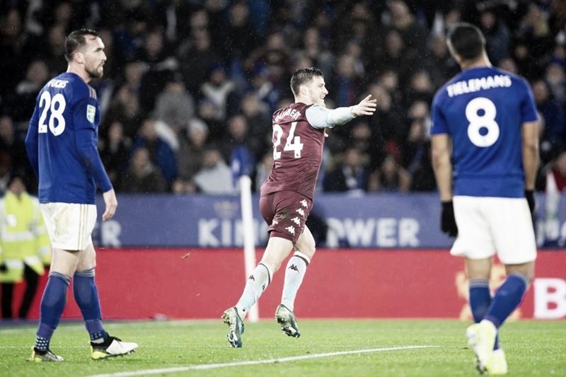 Leicester e Aston Villa ficam no empate e semifinal da Copa da Liga Inglesa continua aberta