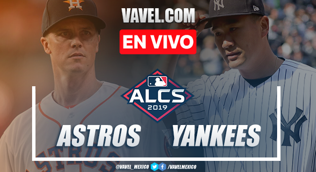 Houston Astros vs New York Yankees en vivo cómo ver transmisión TV online en ALCS Juego 4 en MLB 2019 (0-0)
