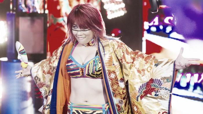 Asuka ascenderá al roster principal