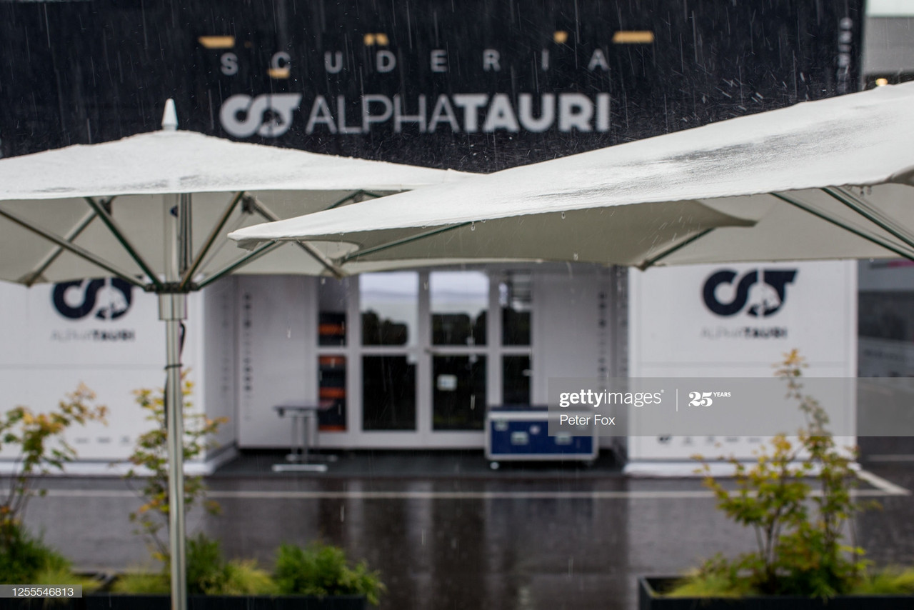 FP3 'delayed indefinitely' as rain hits Styrian hills