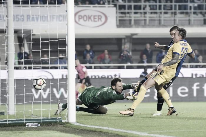 Atalanta-Juve 2-2, le pagelle dei bianconeri: Berna bello a metà, inversione argentina in avanti