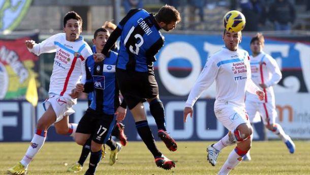 Diretta Atalanta - Catania in serie A